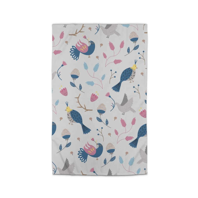 Birds Pattern Home Rug by ivvch's Artist Shop