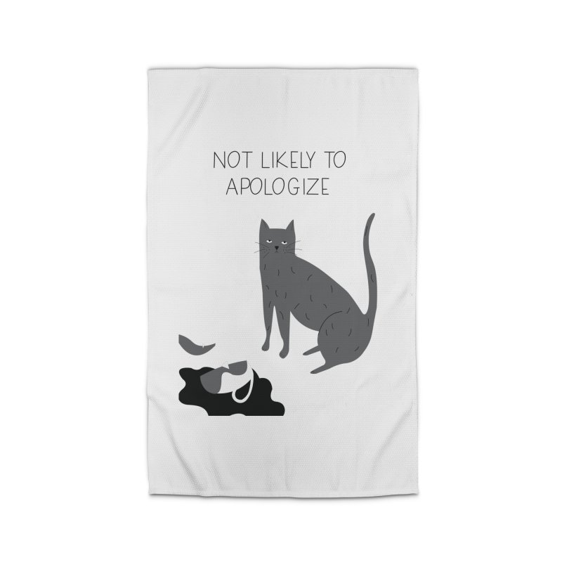 Not likely to apologize Home Rug by ivvch's Artist Shop