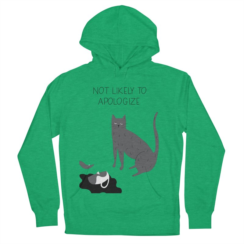 Not likely to apologize Women's Pullover Hoody by ivvch's Artist Shop