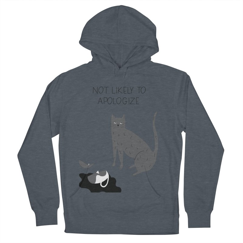 Not likely to apologize Men's Pullover Hoody by ivvch's Artist Shop
