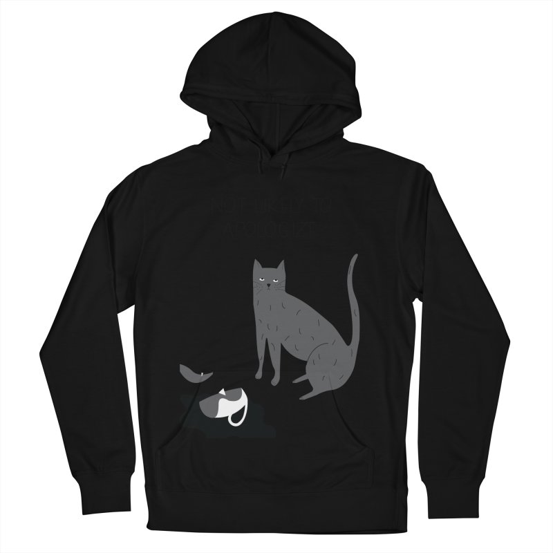 Not likely to apologize Men's French Terry Pullover Hoody by ivvch's Artist Shop