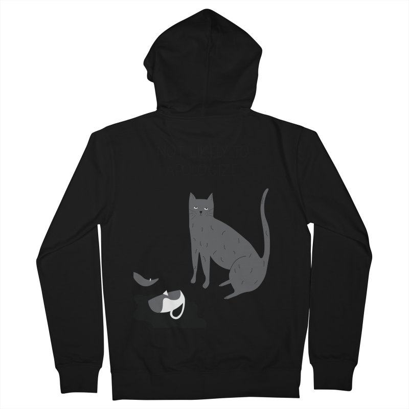 Not likely to apologize Men's Zip-Up Hoody by ivvch's Artist Shop