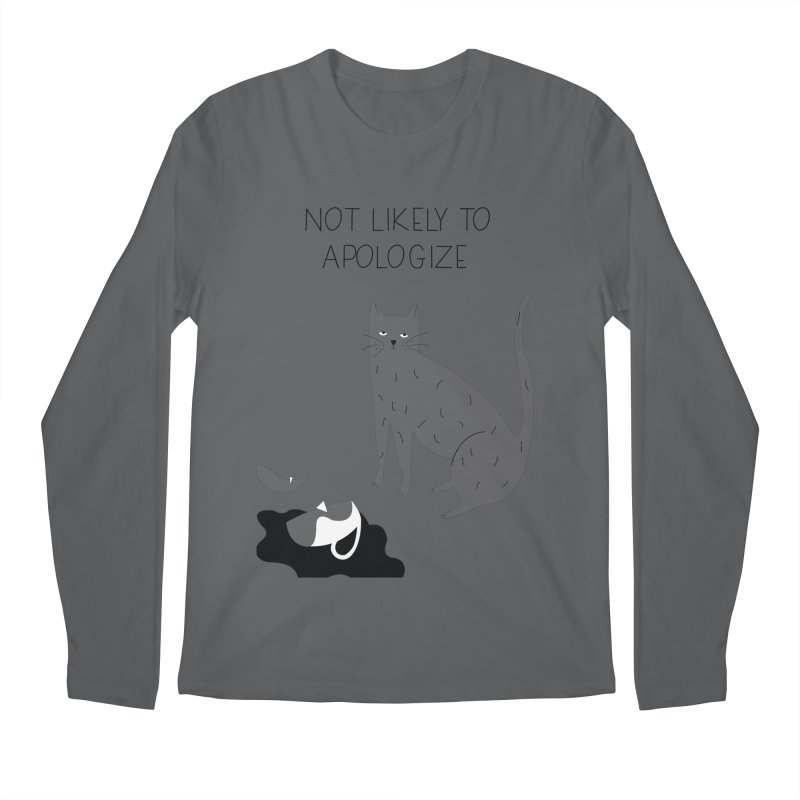 Not likely to apologize Men's Regular Longsleeve T-Shirt by ivvch's Artist Shop