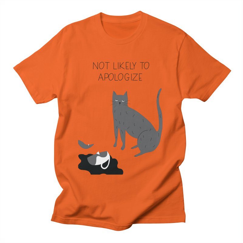 Not likely to apologize Men's T-Shirt by ivvch's Artist Shop
