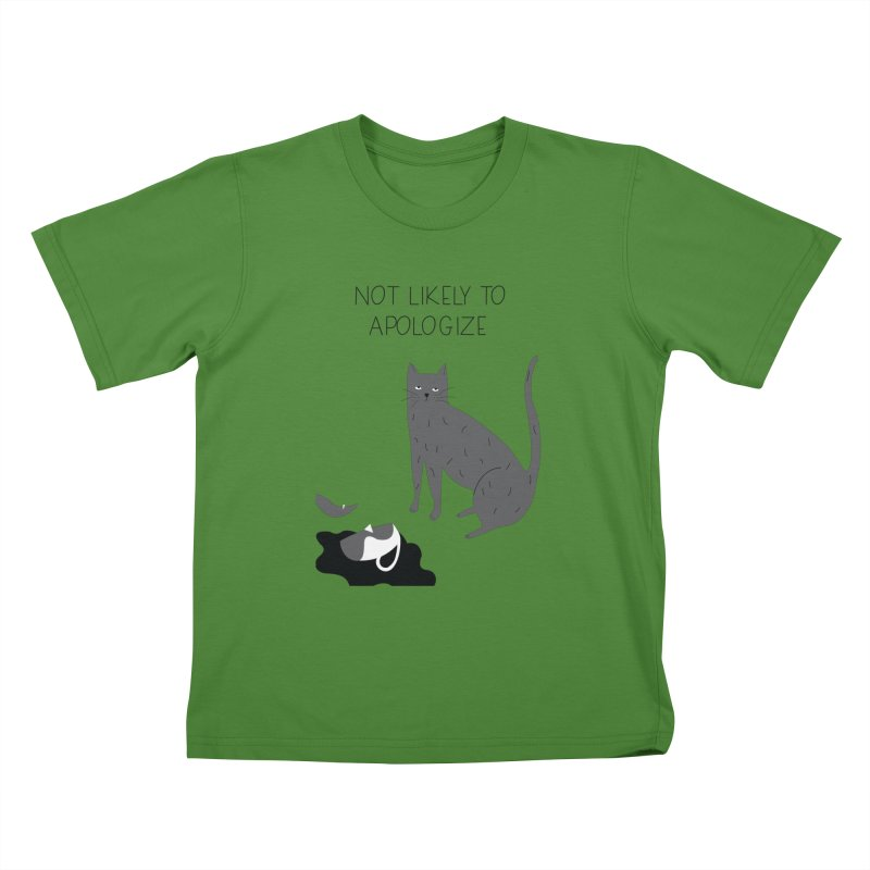 Not likely to apologize Kids T-Shirt by ivvch's Artist Shop