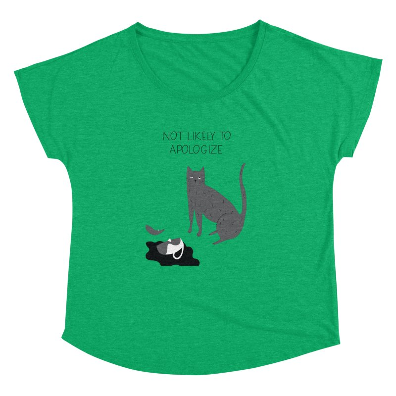 Not likely to apologize Women's Dolman by ivvch's Artist Shop