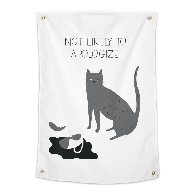 Not likely to apologize Home Tapestry by ivvch's Artist Shop