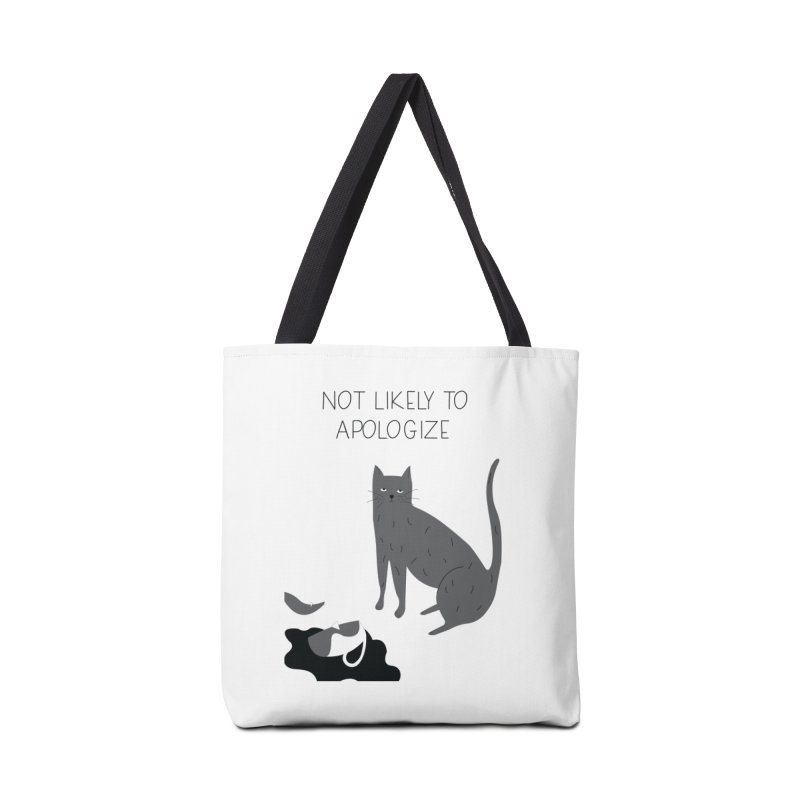 Not likely to apologize Accessories Tote Bag Bag by ivvch's Artist Shop