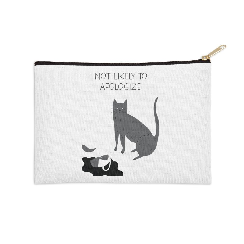 Not likely to apologize Accessories Zip Pouch by ivvch's Artist Shop