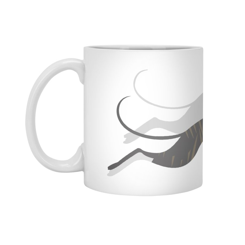 Flying Whippets Accessories Standard Mug by ivvch's Artist Shop