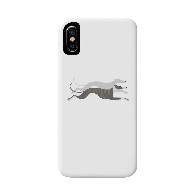 Flying Whippets Accessories Phone Case by ivvch's Artist Shop