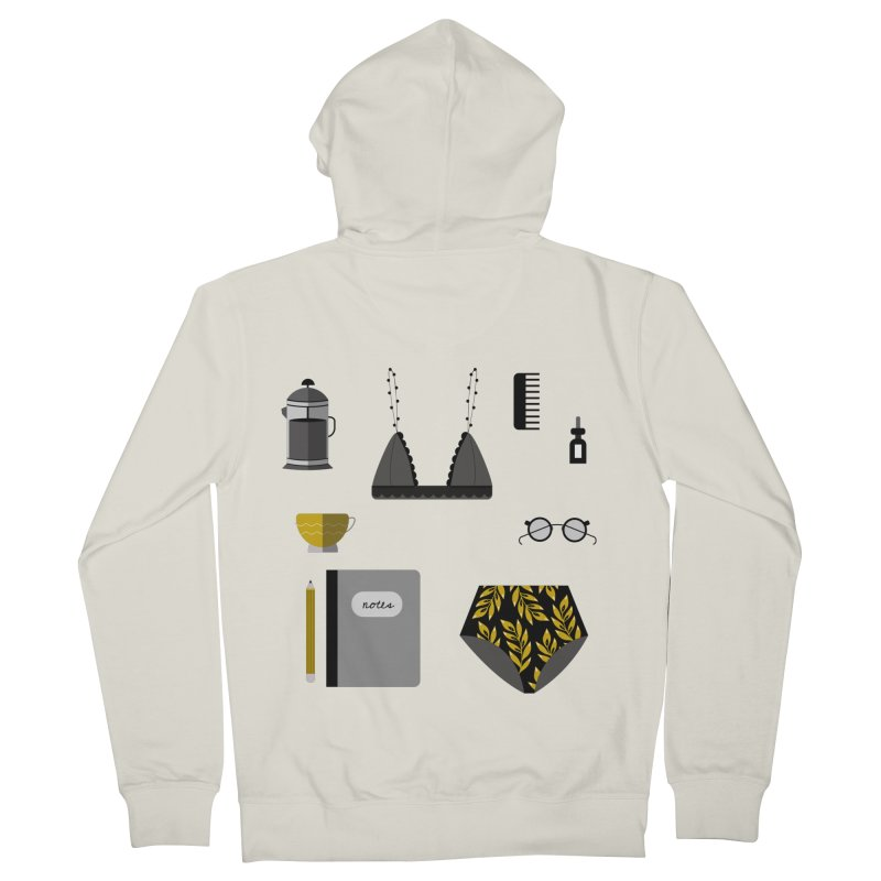 Essentials Men's Zip-Up Hoody by ivvch's Artist Shop