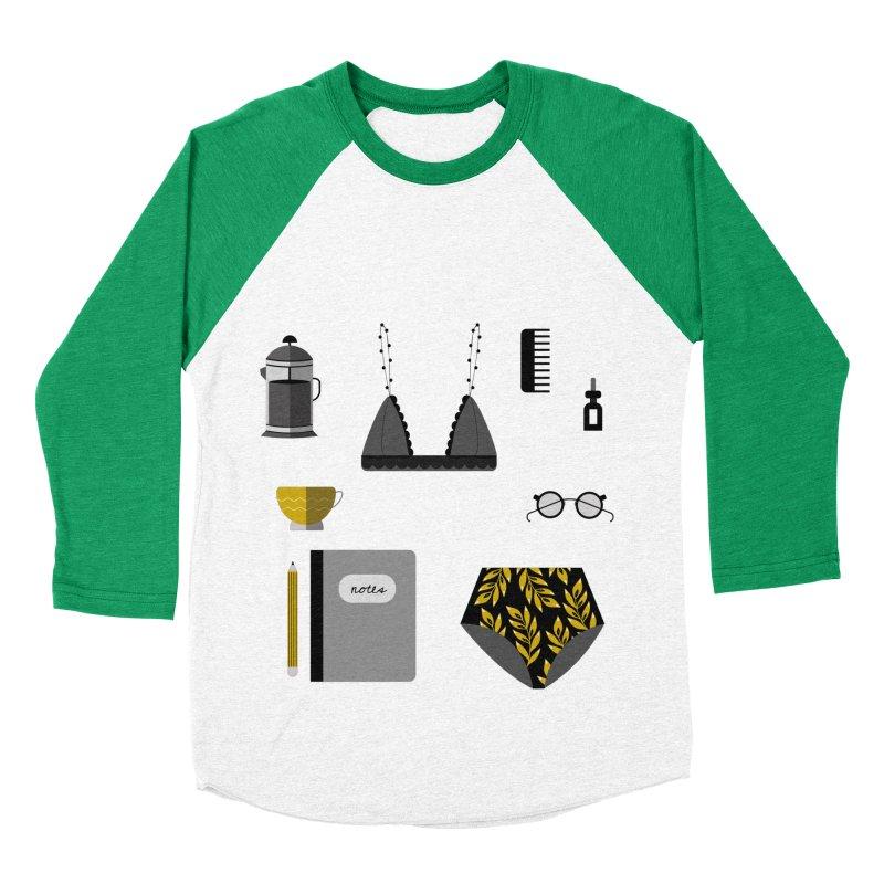 Essentials Men's Baseball Triblend T-Shirt by ivvch's Artist Shop
