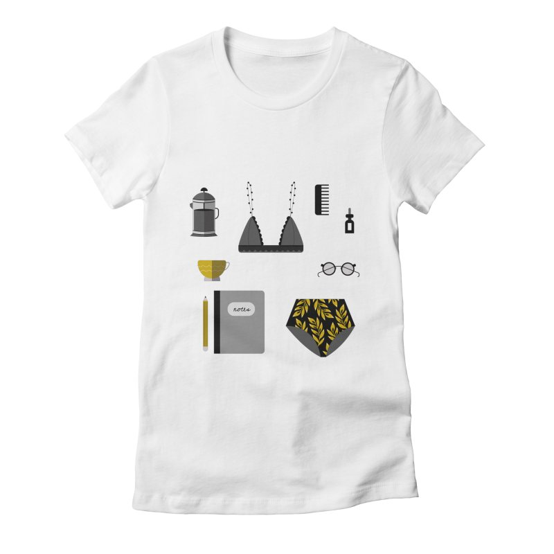 Essentials Women's Fitted T-Shirt by ivvch's Artist Shop