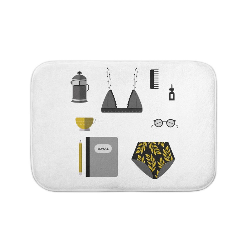 Essentials Home Bath Mat by ivvch's Artist Shop