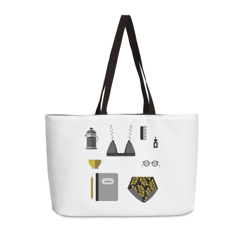 Essentials Accessories Weekender Bag Bag by ivvch's Artist Shop