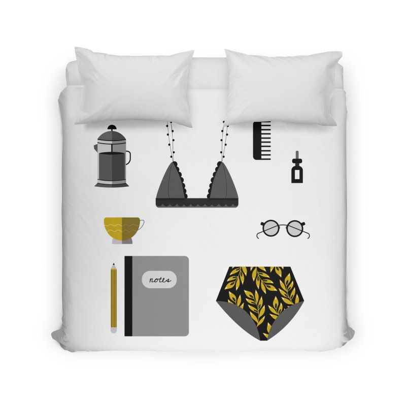 Essentials Home Duvet by ivvch's Artist Shop