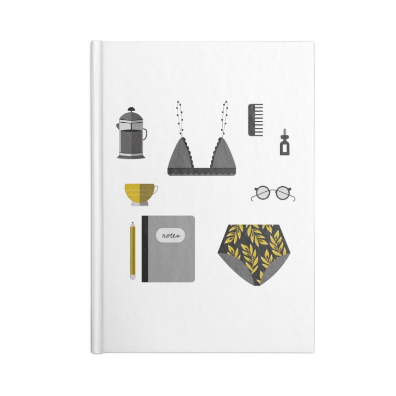 Essentials Accessories Notebook by ivvch's Artist Shop