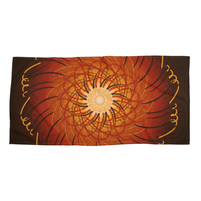 Sunset Over the Water Accessories Beach Towel by Ivy's Meadow