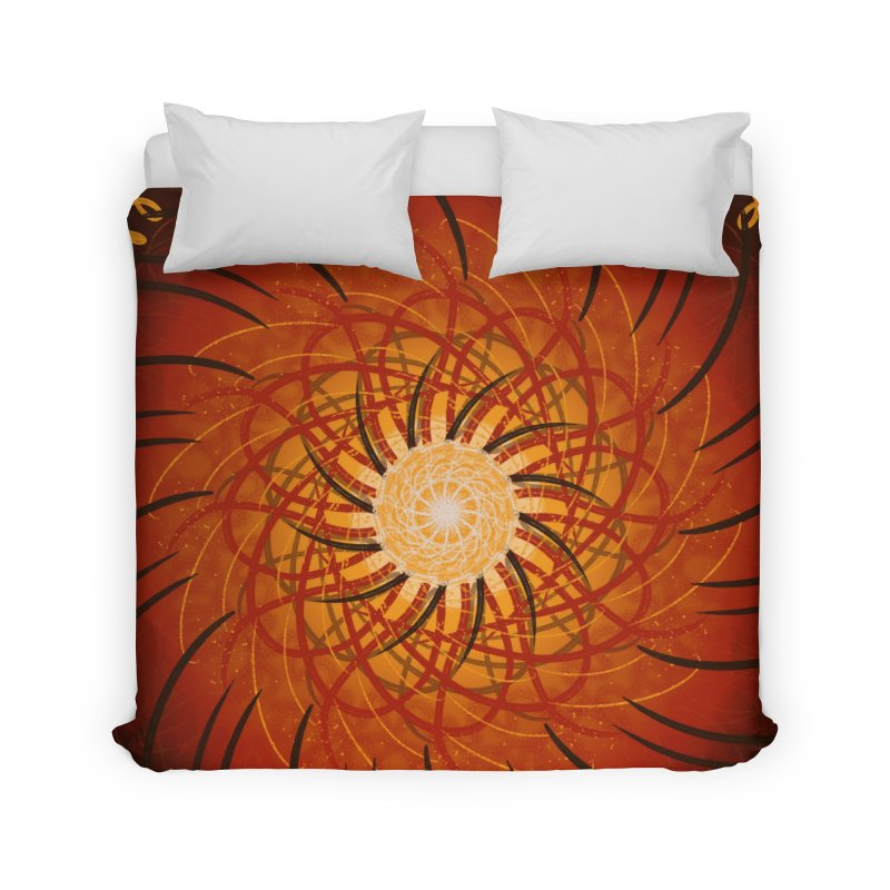 Sunset Over the Water Home Duvet by Ivy's Meadow