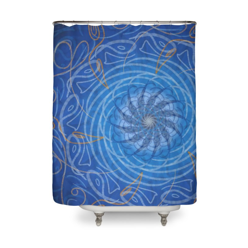 Drowned Well Home Shower Curtain by Ivy's Meadow