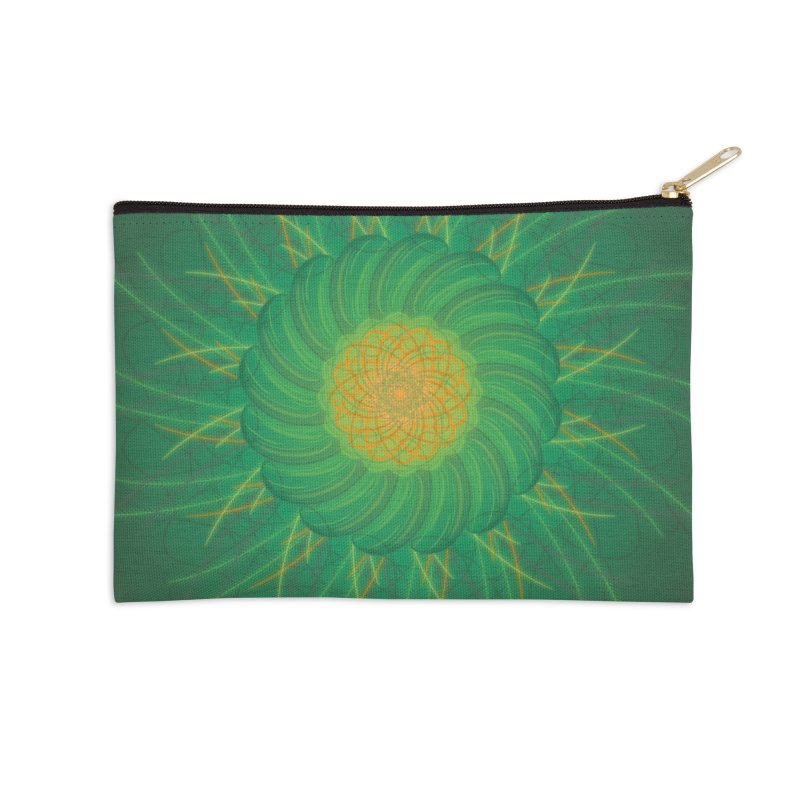 Verdent Fields Accessories Zip Pouch by Ivy's Meadow