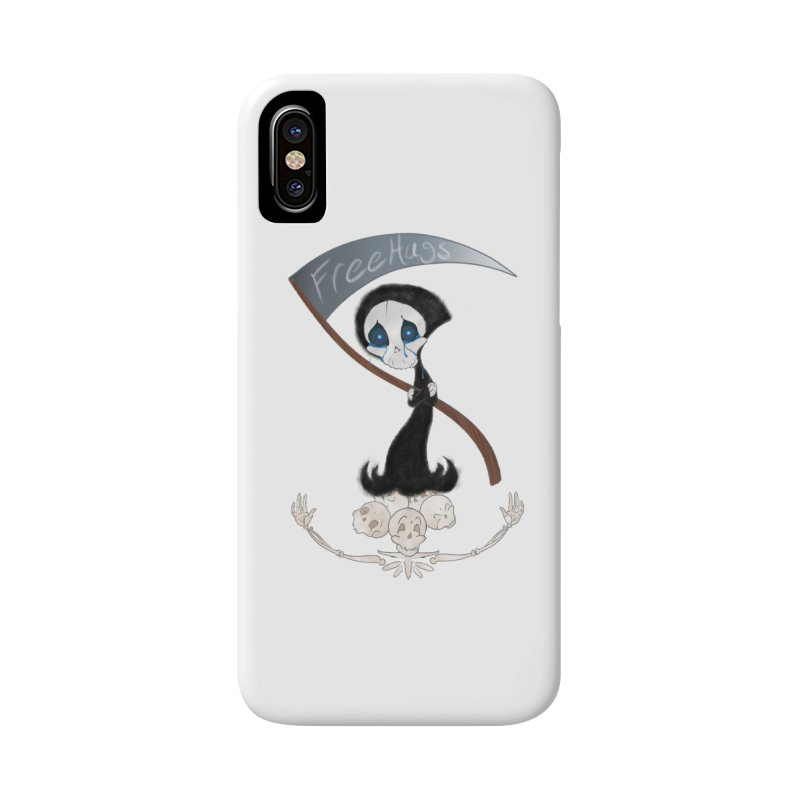 Free Hugs Reaper (No Bubble) Accessories Phone Case by Ivy's Meadow