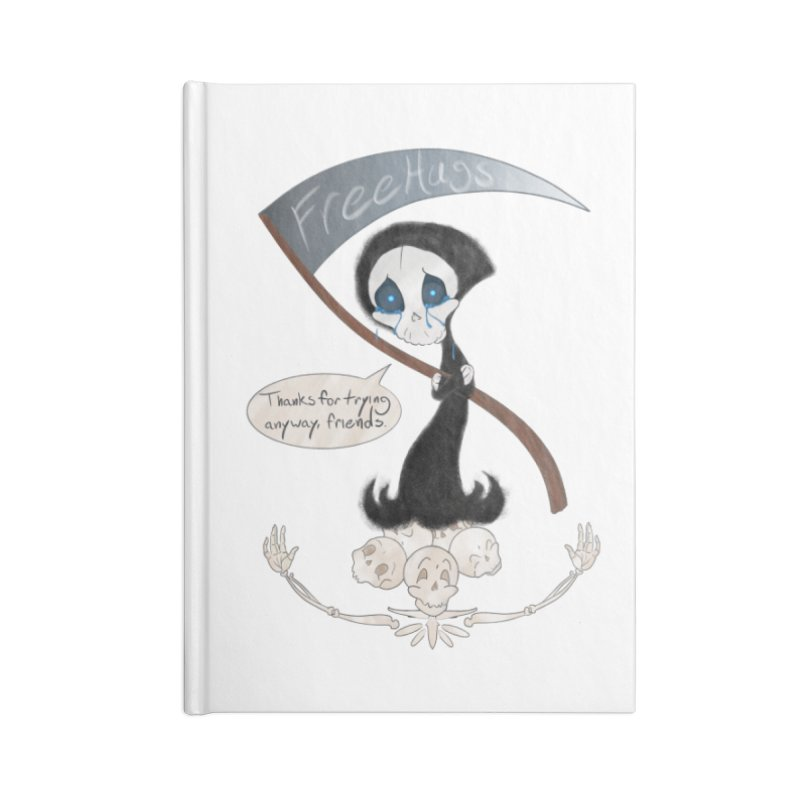 Free Hugs Reaper (With Bubble)  Accessories Notebook by Ivy's Meadow
