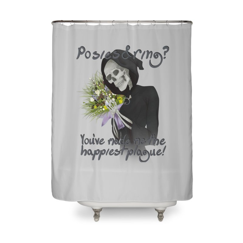 Plague Posies Home Shower Curtain by Ivy's Meadow