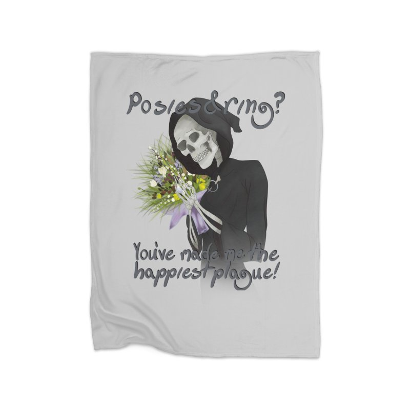 Plague Posies Home Blanket by Ivy's Meadow