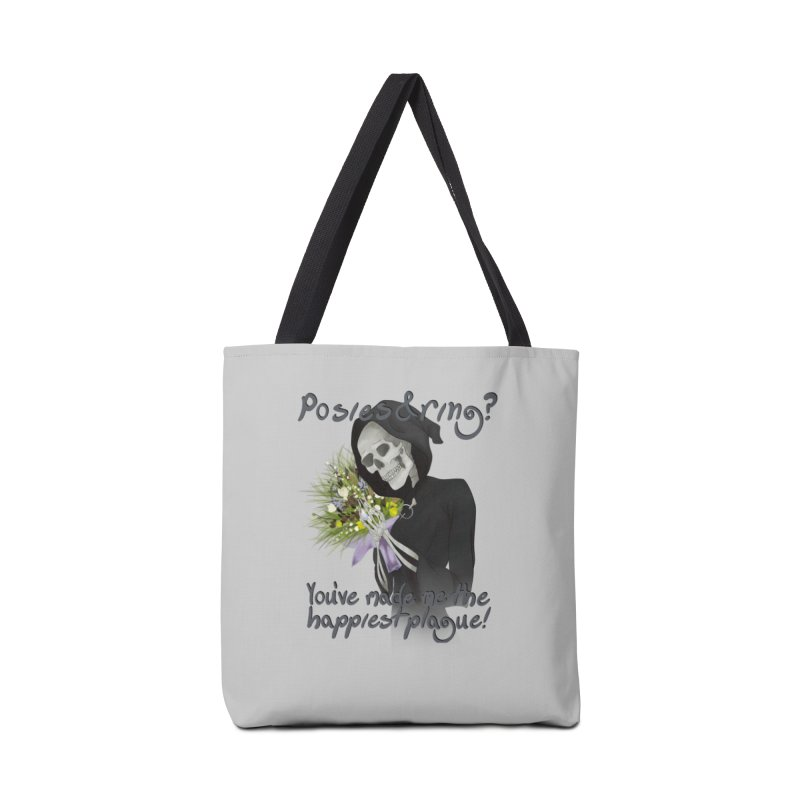 Plague Posies Accessories Bag by Ivy's Meadow