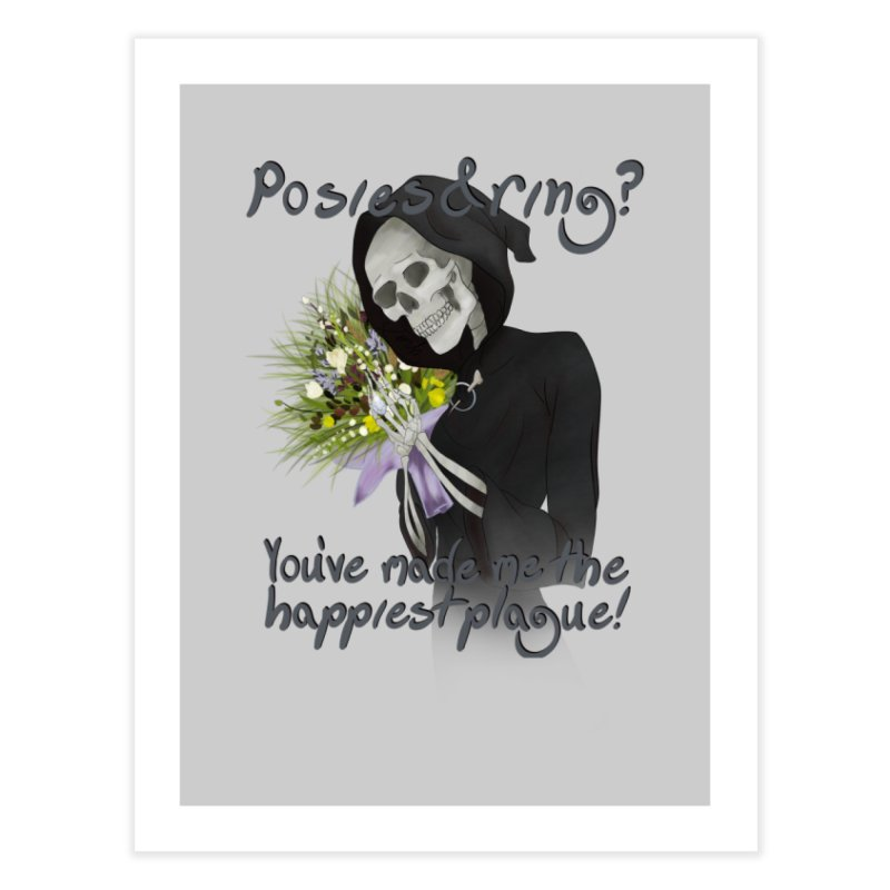 Plague Posies Home Fine Art Print by Ivy's Meadow