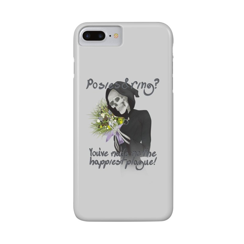 Plague Posies Accessories Phone Case by Ivy's Meadow