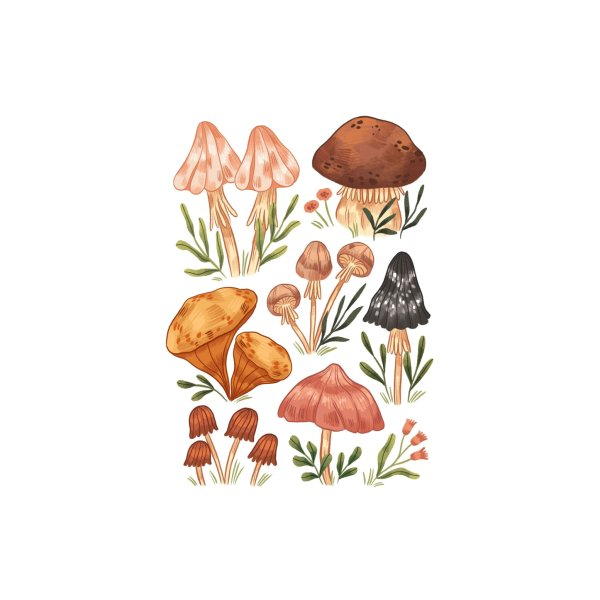 image for Mushrooms vol.2 Small 01