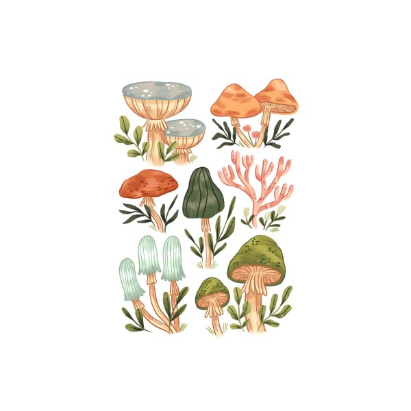 image for Mushrooms vol.2 Small 02