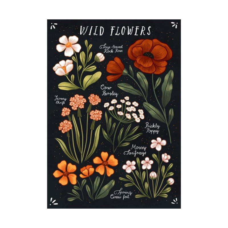 Wild Flowers vol.1 Men's T-Shirt by izptica's Artist Shop