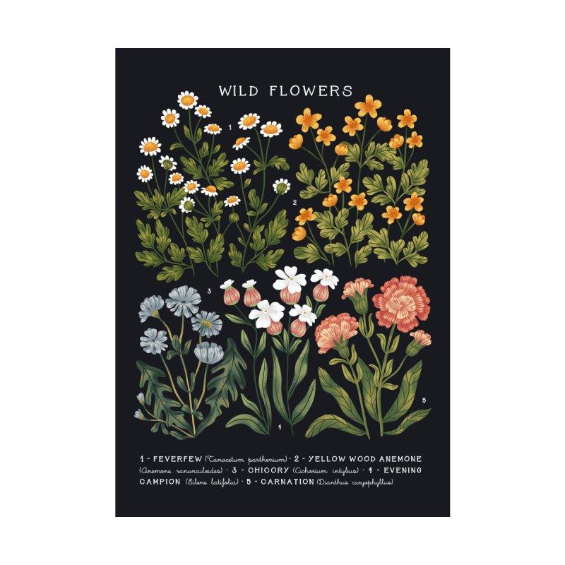 Wild Flowers vol.3 Dark Men's T-Shirt by izptica's Artist Shop