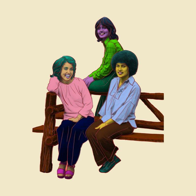 70's Sisters Kids Toddler Longsleeve T-Shirt by Izzy Berdan's Artist Shop