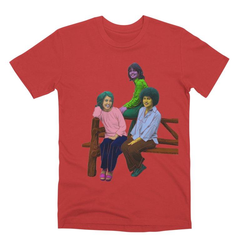 70's Sisters Men's Premium T-Shirt by Izzy Berdan's Artist Shop