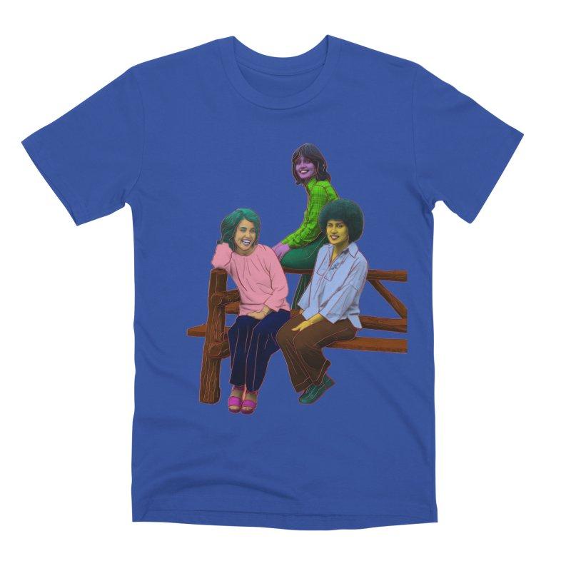 70's Sisters Men's Premium T-Shirt by izzyberdan's Artist Shop