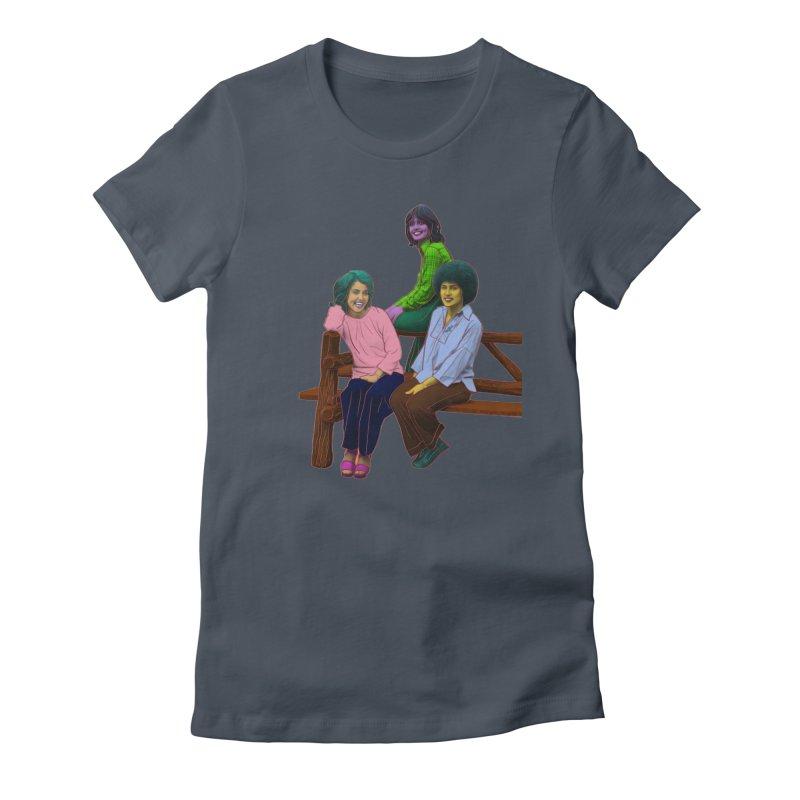 70's Sisters Women's T-Shirt by Izzy Berdan's Artist Shop