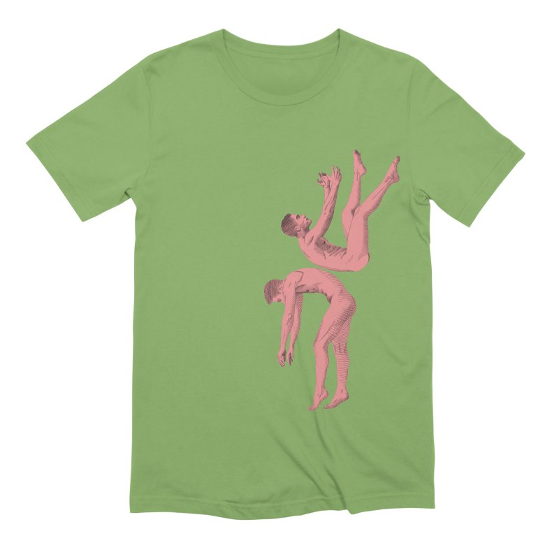 falling into you color Men's Extra Soft T-Shirt by izzyberdan's Artist Shop
