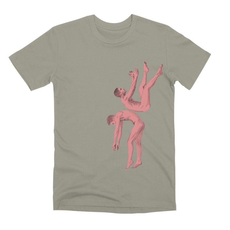 falling into you color Men's Premium T-Shirt by Izzy Berdan's Artist Shop