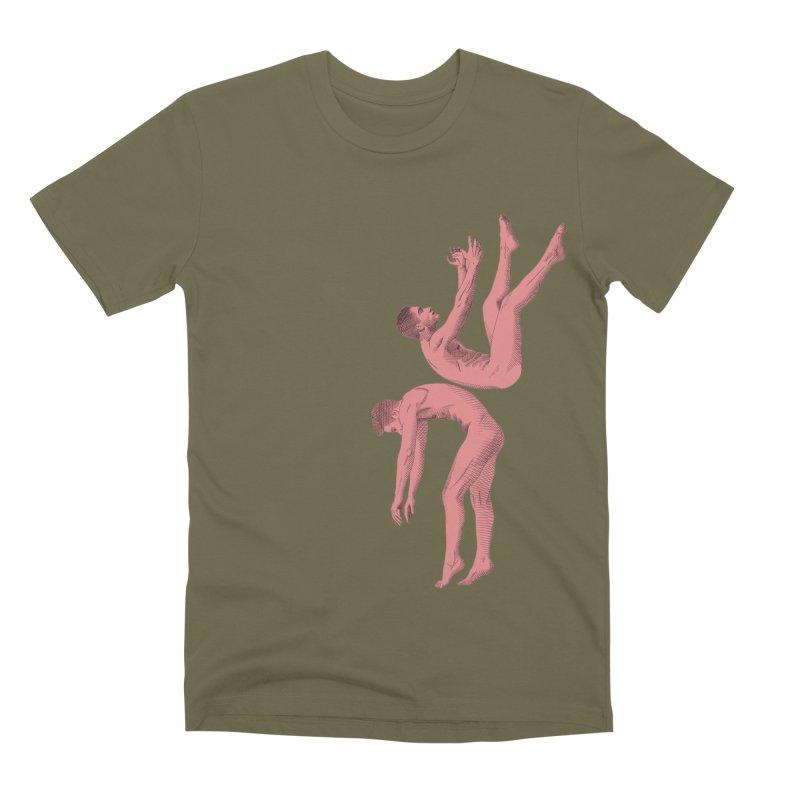 falling into you color Men's Premium T-Shirt by izzyberdan's Artist Shop