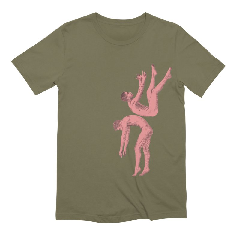 falling into you color Men's Extra Soft T-Shirt by Izzy Berdan's Artist Shop