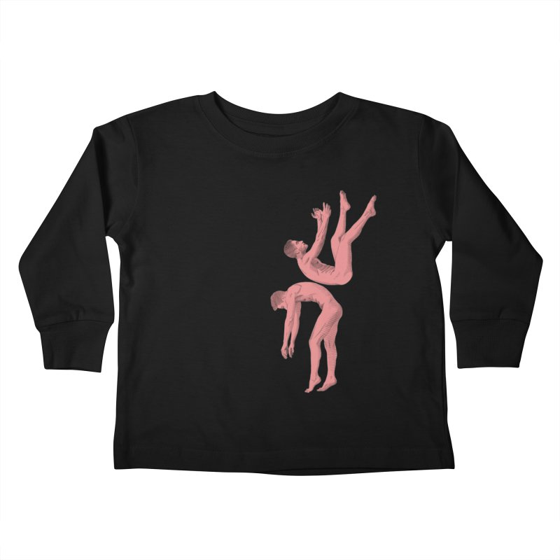 falling into you color Kids Toddler Longsleeve T-Shirt by Izzy Berdan's Artist Shop