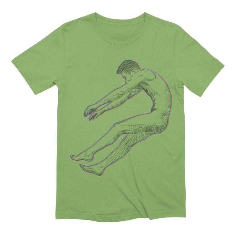 ascension Men's Extra Soft T-Shirt by Izzy Berdan's Artist Shop