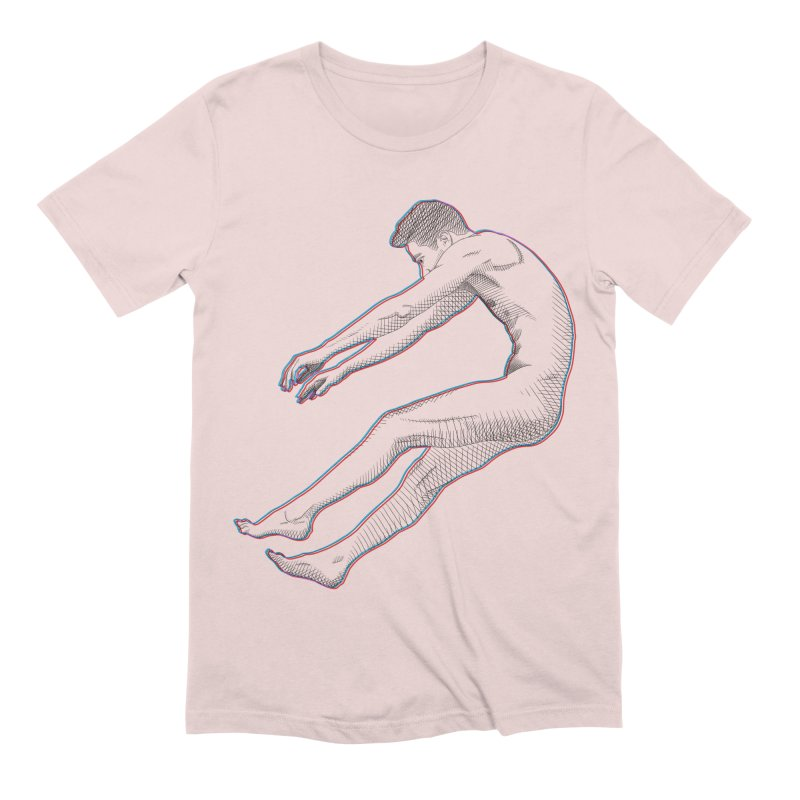 ascension Men's Extra Soft T-Shirt by Izzy Berdan's Artist Shop