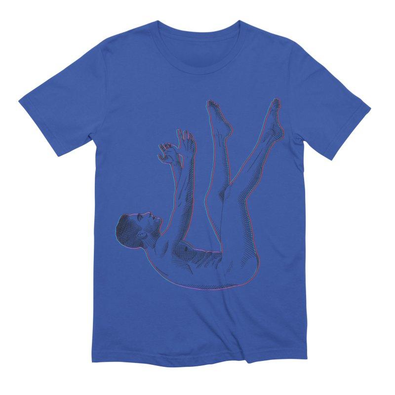 descension Men's Extra Soft T-Shirt by Izzy Berdan's Artist Shop