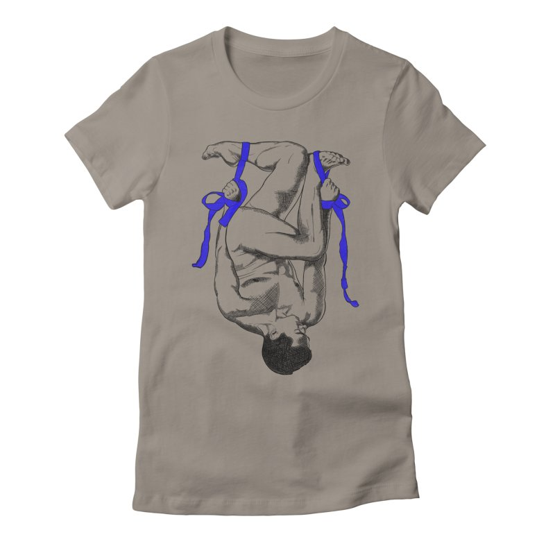 hanging around Women's Fitted T-Shirt by Izzy Berdan's Artist Shop